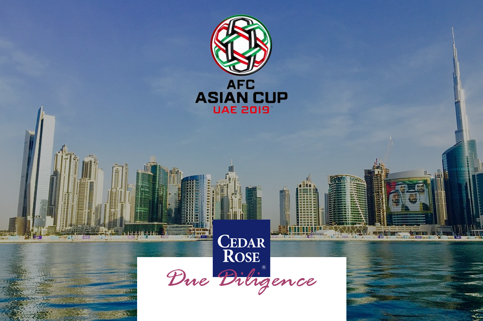 Asian Cup 2019 - UAE Developments and Investments