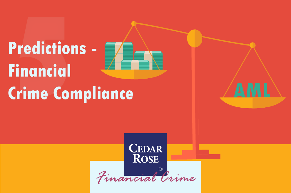 5 Predictions for Financial Crime Compliance - Infographic