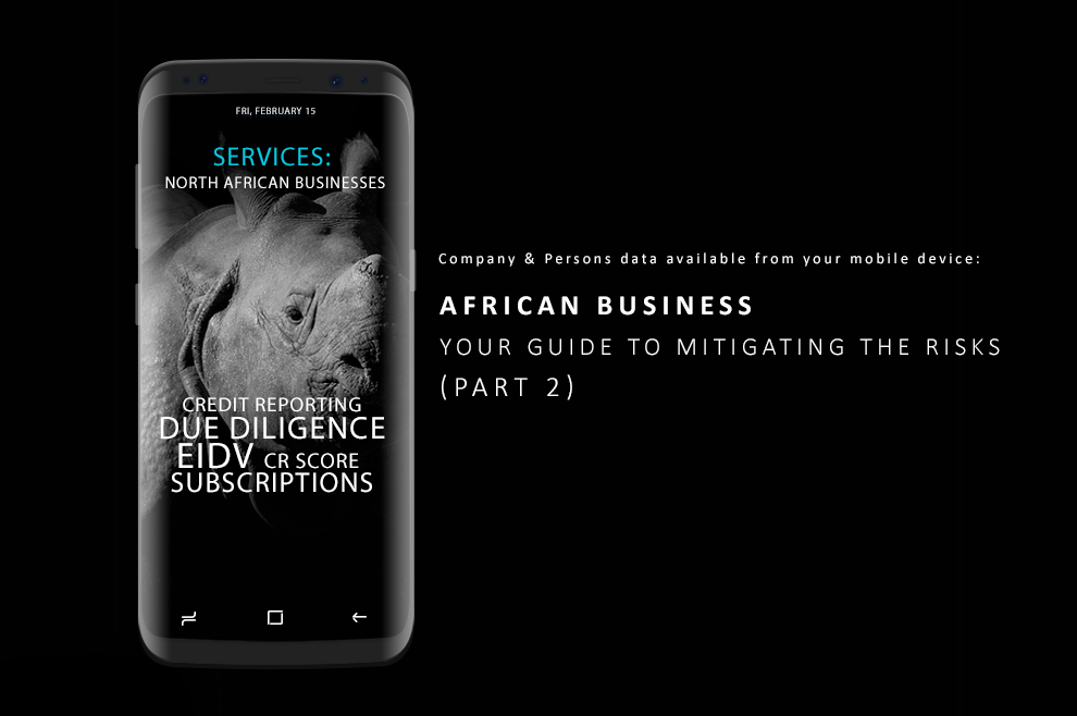 African Business - Your Guide to Mitigating Risks (Part 2)