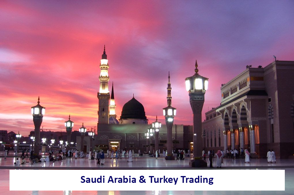 Trading Relationship Between Turkey and Saudi Arabia - One to Watch